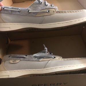 Size 9 Sperry. Brand new in the box.
